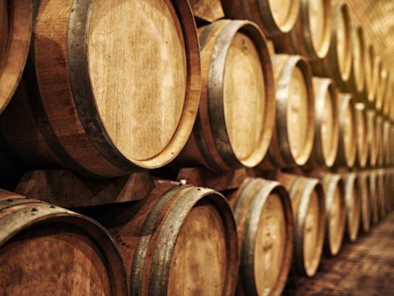 Tonneau de vins